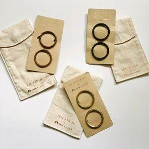 C+I Jen Atkin 6 Piece Circle Hair Clip Set